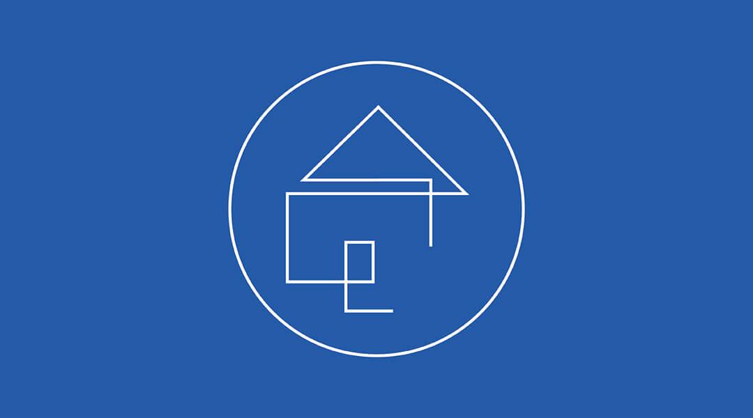Blue logo for Blueprint Advisors, home construction consultants in Boston